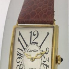 Relojes - Cartier: CARTIER PLATA-PLAQUÈ ORO VINTAGE ART-DÈCO 1.935-40. Lote 152233018