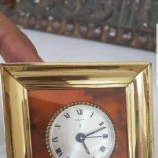 Relojes - Cartier: RELOJ DESPERTADOR CARTIER 8 DIAS CUERDA CASI A ESTRENAR FUNCIONA TODO ALTA COLECION . Lote 152305858