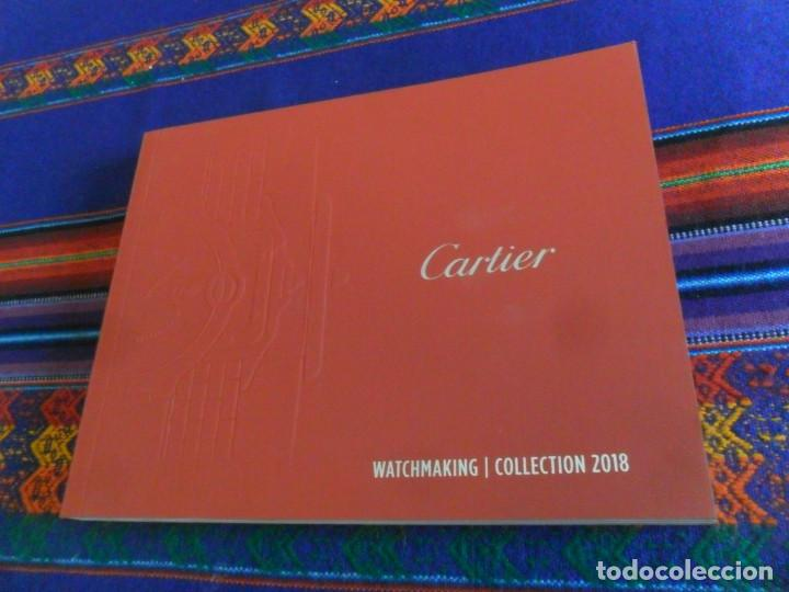 Relojes - Cartier: CARTIER WATCHMAKING COLLECTION 2018. EN ESPAÑOL. 150 PÁGINAS CON TAPAS EN RÚSTICA. - Foto 1 - 156787490