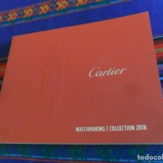 Relojes - Cartier: CARTIER WATCHMAKING COLLECTION 2018. EN ESPAÑOL. 150 PÁGINAS CON TAPAS EN RÚSTICA.. Lote 156787490