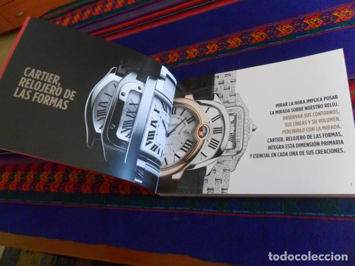 Relojes - Cartier: CARTIER WATCHMAKING COLLECTION 2018. EN ESPAÑOL. 150 PÁGINAS CON TAPAS EN RÚSTICA. - Foto 2 - 156787490