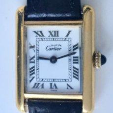 Relojes - Cartier - CARTIER TANK-PLATA PLAQUÈ ORO 18KT 20 MICRAS-MUJER ¡¡COMO NUEVO!! - 161602682