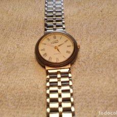 Relojes - Cartier: (MUST DE CARTIER, QUARTS) ARGENT PLAQUE OR G 20 M SWISS 17 050 343. FUNCIONANDO.. Lote 176889102