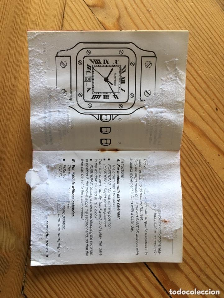 Relojes - Cartier: Caja Cartier para reloj. Cartier box for a watch. - Foto 11 - 172161904
