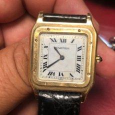 Relojes - Cartier: RELOJ DE ORO CARTIER LENGUA DE ÁGUILA MUY FINA TOOOOOOP COLECCIÓN. Lote 175121910