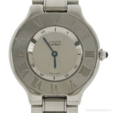 "Relojes - Cartier: CARTIER MUST ""21"" REF.1330 MUJER. Lote 177367114"