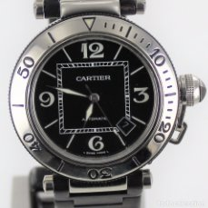 Relojes - Cartier: CARTIER PASHA SEATIMER STEEL AUTOMATIC. Lote 178609756