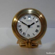 Relojes - Cartier: RELOJ DESPERTADOR, SOBREMESA, MARCA CARTIER, MODELO COLISSE, QUARTZ, ORIGINAL.. Lote 178629876