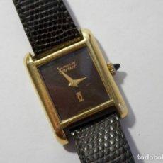 Relógios - Cartier: RELOJ SEÑORA MUST DE CARTIER, TANK, AÑOS 80-90, CHAPADO ORO, MECANICO, FUNCIONANDO. Lote 178631070