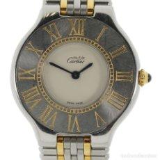 Relojes - Cartier: MUST DE CARTIER 21 MUJER. Lote 179398908
