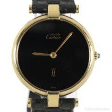 Relojes - Cartier: CARTIER MUST ARGENT 925. Lote 179897057