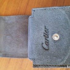 Relojes - Cartier: CAJA ESTUCHE RELOJ CARTIER, ESTUCHE TRANSPORTE, TAMBIÉN VALE PARA OTROS RELOJES COMO OMEGA O ROLEX. Lote 180045058