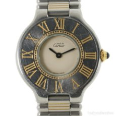 Relojes - Cartier: CARTIER MUST 21 MUJER. Lote 180127306