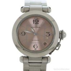 Relojes - Cartier: CARTIER PASHA AUTOMÁTICO REF. 2324 MUJER SET COMPLETO. Lote 180160363