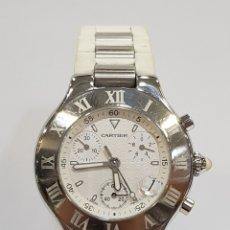 Relojes - Cartier: RELOJ CARTIER 21 CRONOSCAPH. Lote 177271209