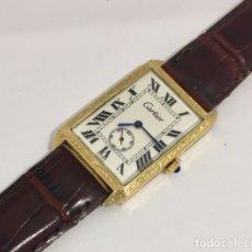 Relojes - Cartier: CARTIER ORO 18 QTS. VINTAGE C.1930. Lote 182732810