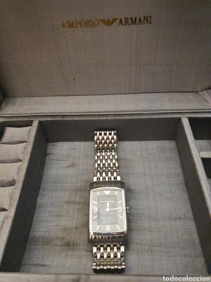 Relojes - Cartier: reloj Armani. tipo cartier. Autentico. 2017. caballero o unisex - Foto 2 - 183257190