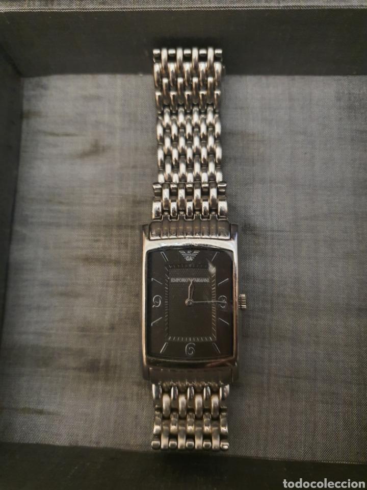 Relojes - Cartier: reloj Armani. tipo cartier. Autentico. 2017. caballero o unisex - Foto 3 - 183257190