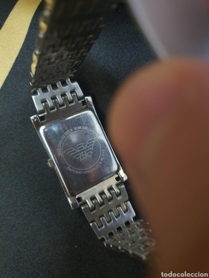 Relojes - Cartier: reloj Armani. tipo cartier. Autentico. 2017. caballero o unisex - Foto 4 - 183257190
