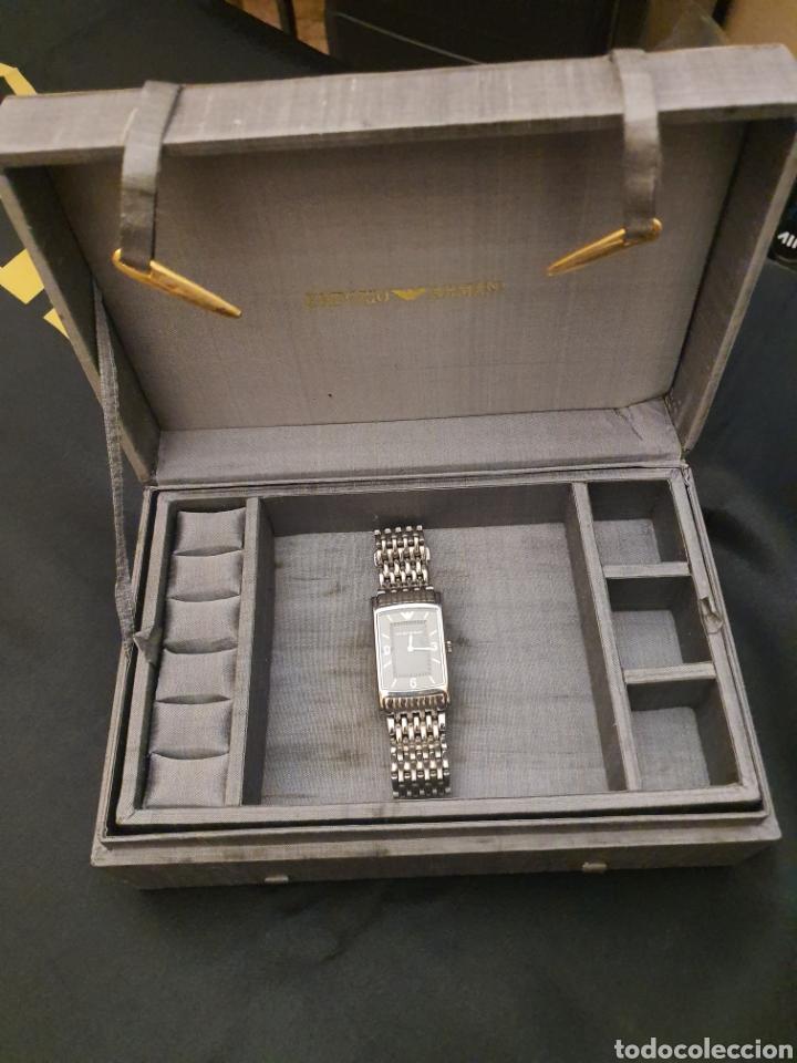 Relojes - Cartier: reloj Armani. tipo cartier. Autentico. 2017. caballero o unisex - Foto 6 - 183257190