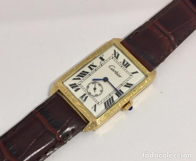 Relojes - Cartier: CARTIER ORO 18KTS.VINTAGE - Foto 2 - 183707983