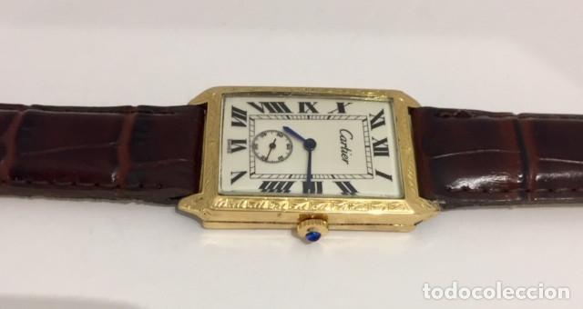 Relojes - Cartier: CARTIER ORO 18KTS.VINTAGE - Foto 3 - 183707983