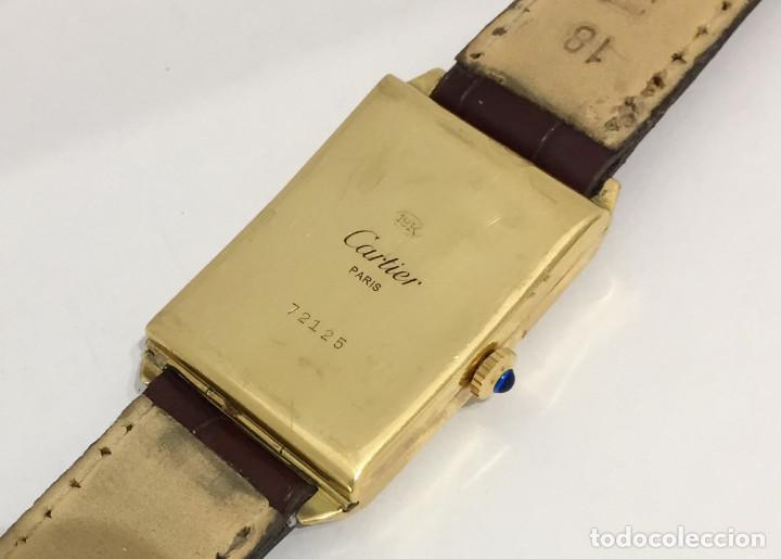 Relojes - Cartier: CARTIER ORO 18KTS.VINTAGE - Foto 4 - 183707983