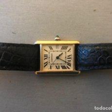 Relojes - Cartier: RELOJ CARTIER, CABALLERO ORO 18 K. Lote 185656147