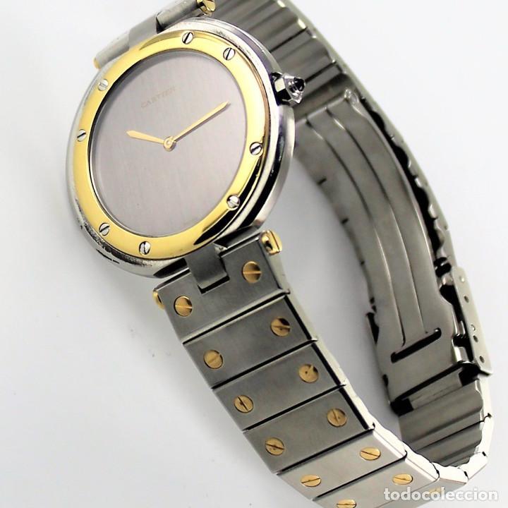 RELOJ CATIER VENDOME ACERO Y ORO 18 K (Relojes - Relojes Actuales - Cartier)