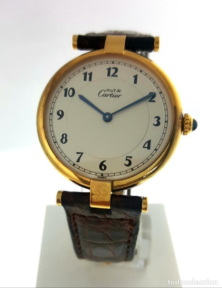 CARTIER MUST ¡¡COMO NUEVO!! (Relojes - Relojes Actuales - Cartier)