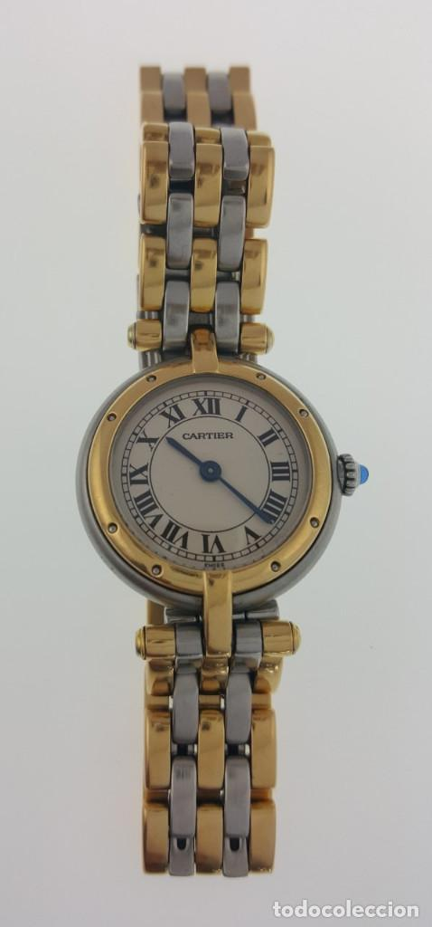 Relojes - Cartier: CARTIER ORO 18KTS. y ACERO MUJER ¡¡COMO NUEVO!! - Foto 4 - 189602701