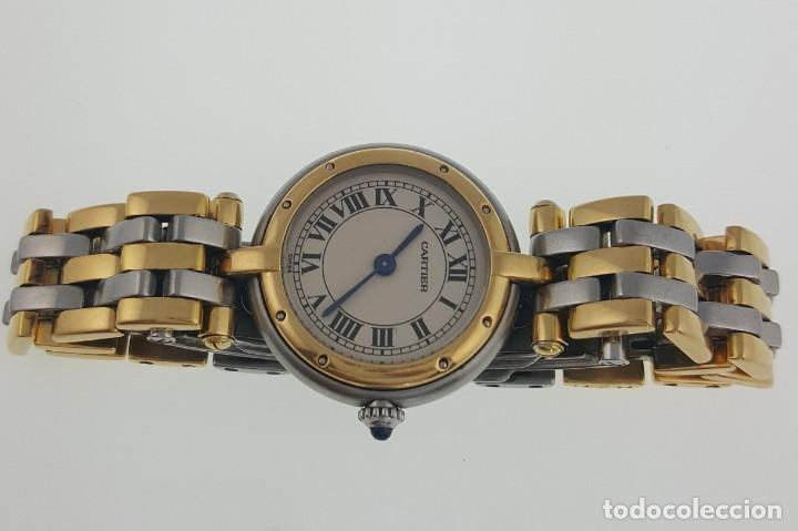 CARTIER ORO 18KTS. Y ACERO DE SEÑORA.¡¡COMO NUEVO!! (Relojes - Relojes Actuales - Cartier)