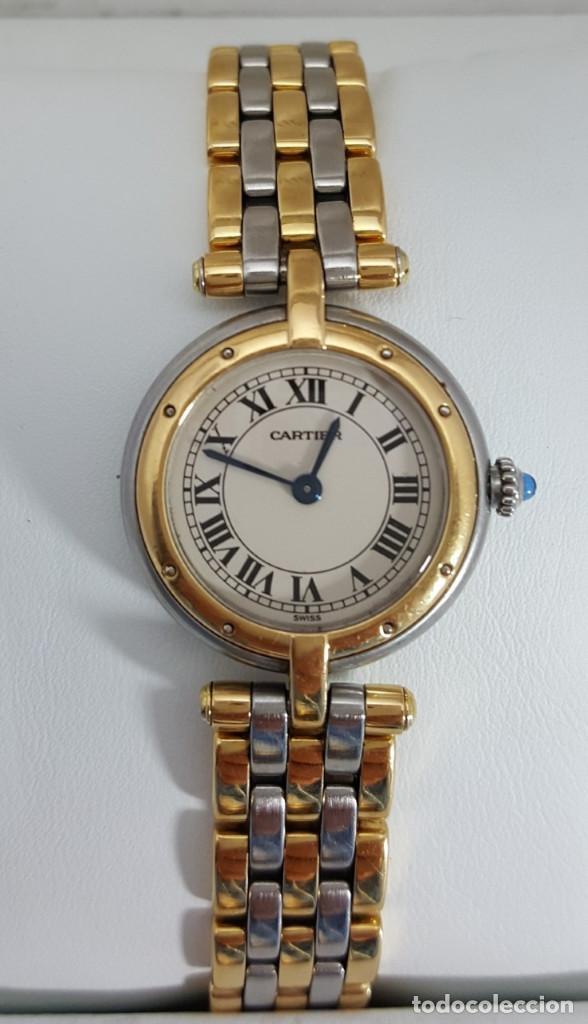Relojes - Cartier: CARTIER ORO 18KTS. y ACERO DE SEÑORA.¡¡COMO NUEVO!! - Foto 3 - 189602701