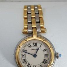 Relojes - Cartier: CARTIER ORO 18KTS. Y ACERO DE SEÑORA.¡¡COMO NUEVO!!. Lote 189602701