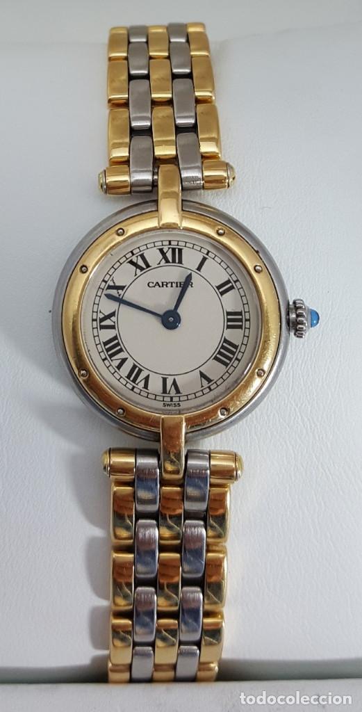 Relojes - Cartier: CARTIER ORO 18KTS. y ACERO MUJER ¡¡COMO NUEVO!! - Foto 2 - 189602701