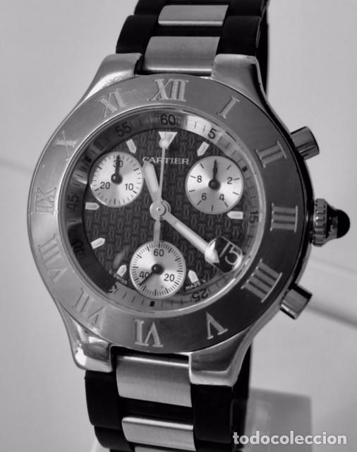 CARTIER CRONOSCAP ¡¡¡COMO NUEVO!!! (Relojes - Relojes Actuales - Cartier)