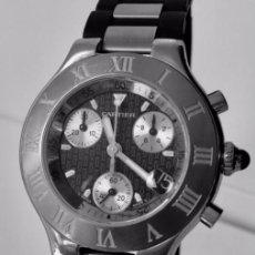 Relojes - Cartier: CARTIER CRONOSCAP ¡¡¡COMO NUEVO!!!. Lote 189602768