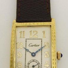 Relojes - Cartier: CARTIER EPOCA-ART-DECO-PLATA PLAQUÈ ORO 18KTS.. Lote 189974082