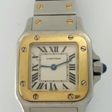 Relojes - Cartier: CARTIER SANTOS ORO-ACERO-MUJER !!COMO NUEVO!!. Lote 190044287