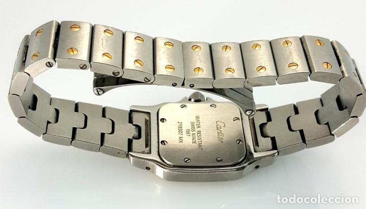 Relojes - Cartier: CARTIER SANTOS ORO-ACERO-MUJER !!COMO NUEVO!! - Foto 3 - 190044287