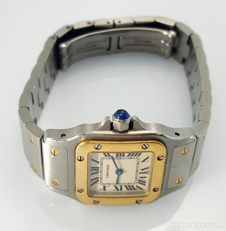Relojes - Cartier: CARTIER SANTOS ORO-ACERO-MUJER !!COMO NUEVO!! - Foto 4 - 190044287