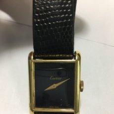Relógios - Cartier: RELOJ CARTIER ELECTROPLATED 18KL GOLD CARGA MANUAL VINTAGE. Lote 191635230