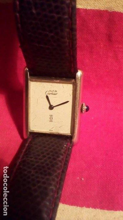 Relojes - Cartier: RELOJ CARTIER - PARIS . - Foto 2 - 191919623
