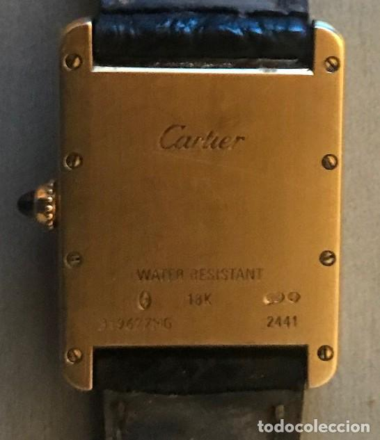 Relojes - Cartier: Reloj Cartier, caballero oro 18 K - Foto 2 - 192511857