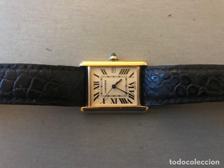 RELOJ CARTIER, CABALLERO ORO 18 K (Relojes - Relojes Actuales - Cartier)