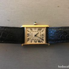 Relojes - Cartier: RELOJ CARTIER, CABALLERO ORO 18 K. Lote 192511857