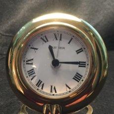 Relojes - Cartier: RELOJ DESPERTADOR DE VIAJE CARTIER A QUARTZ MODELO COLISEE DEL AÑO 2000. Lote 192960611