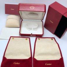 Relojes - Cartier: LOTE CAJAS ESTUCHES CARTIER (INTERES RELOJ ROLEX HUBLOT OMEGA LONGINES. Lote 193553152