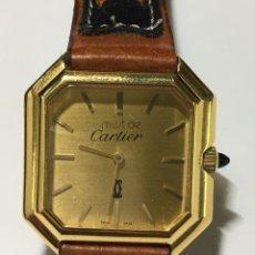 Relojes - Cartier: RELOJ MUST DE CARTIER CAJA 18 KL GOLD ELECTROPLATED SWISS 414 MAQUINARIA CATENA SA. Lote 193958177