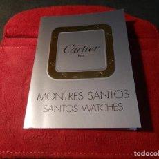 Relojes - Cartier: PORTADOCUMENTACIÓN CARTIER. Lote 194713330